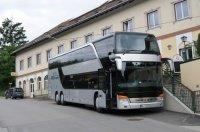 Bei der Ankunft war der Bus auf einmal viel größer-was ist da passiert?