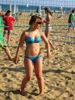 Heiße Beachvolleyball-Gefechte
