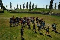Das Amphitheater - heute: alle Überlebenden verlassen die Arena